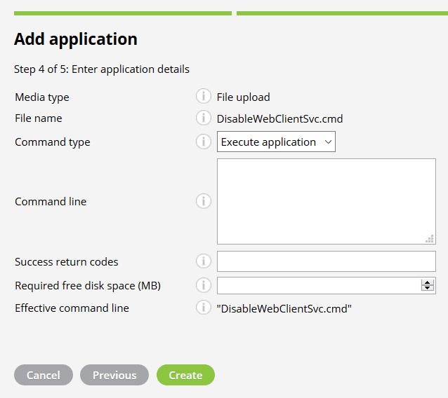 Miradore Disable WebClient Application