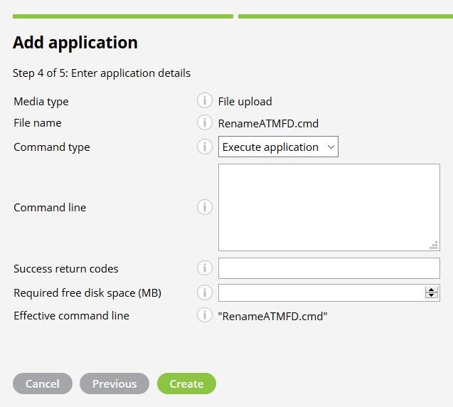 Miradore Rename ATMFD Application