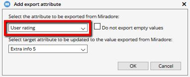 Exporting custom attributes